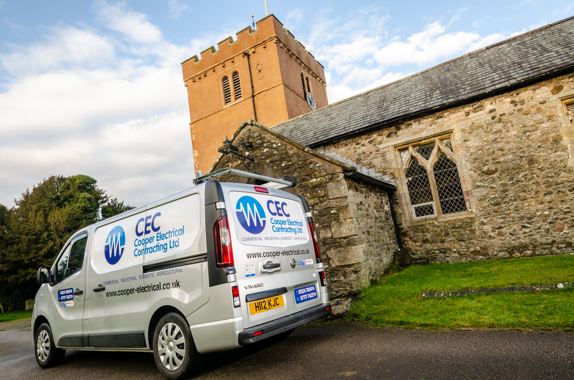 Electrician for Lancashire Church